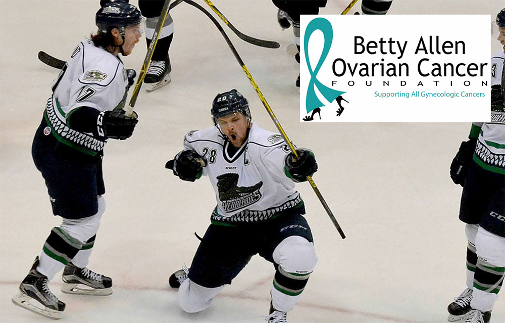 Support Betty Allen Ovarian Cancer Foundation At Florida Everglades Game Betty Allen Gynecologic Cancer Foundation