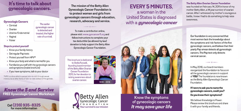 Downloads Betty Allen Gynecologic Cancer Foundation